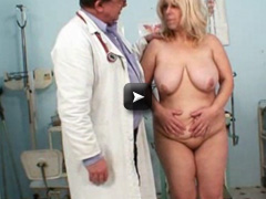 visiting her gyno doctor friend who is opening