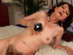 woman with furry pussy gets fucked