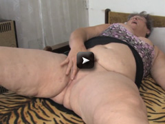 masturbating with dildo her pussy