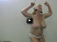 OldNanny BBW granny with big tits dancing