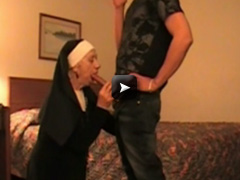 90 YEAR OLD NUN SUCKING COCK